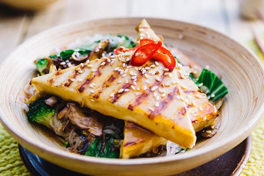 Sticky Tofu