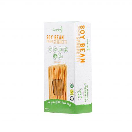 Soy bean organic spaghetti slendier
