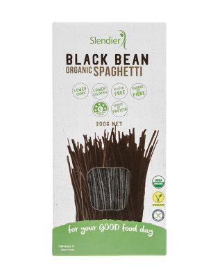 Black bean pasta slendier
