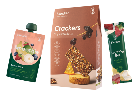 Snacks - Smoothies, Crackers and Healthier Bars