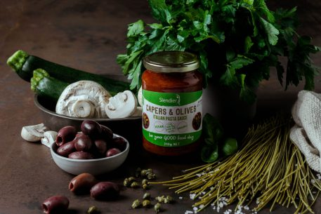 Capers & olives sauce