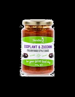 Eggplant & Zucchini sauce slendier